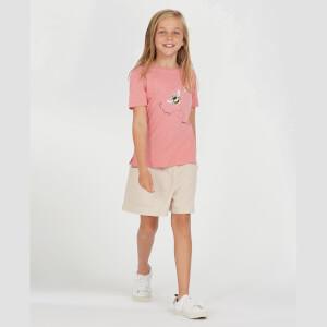 Barbour Girls' Merseyside T-Shirt - Vintage Rose
