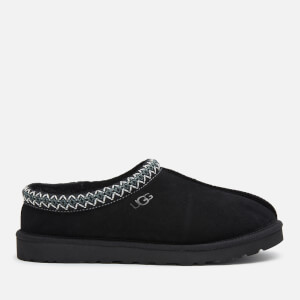 UGG Men's Tasman Suede Slippers - Black