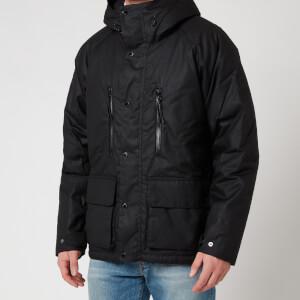 Barbour International Men's Afton Wax Jacket - Black