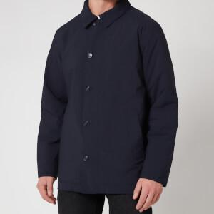 Barbour Tartan Men's Fawk Waterproof Jacket - Navy
