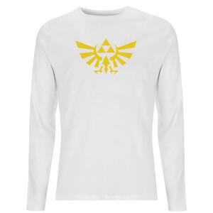 Nintendo Zelda Hyrule Unisex Long Sleeve T-Shirt - White