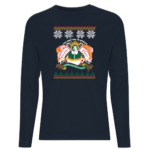 Christmas Cheer Unisex Long Sleeve T-Shirt - Navy