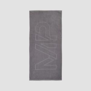 MP Logo Beach Towel - Carbon
