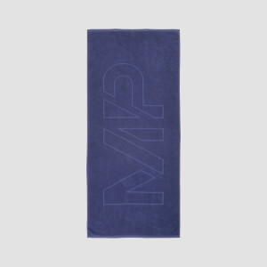 MP Logo Beach Towel - Navy