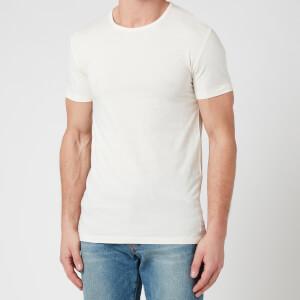 PS Paul Smith Men's Cotton Crew Neck T-Shirt - Off White