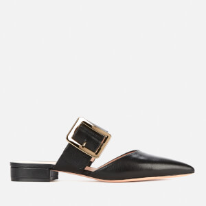 Bally Women's Jemina Flat Leather Mules - Black
