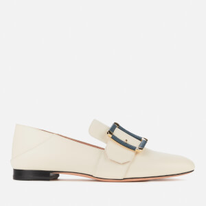 Bally Women's Janelle-Torchon Leather Loafers - Bone