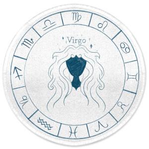 Virgo Circle Round Bath Mat