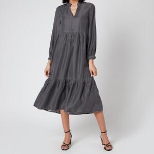 Whistles Women's Denim Trapeze Dress - Black