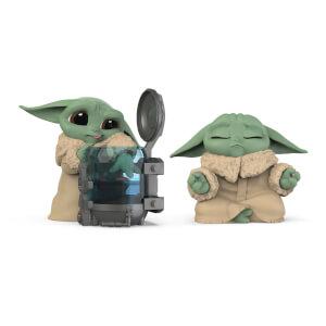 Collection Star Wars The Bounty - L'enfant - Lot de 2 : Enfant Curieux & Pose de Méditation