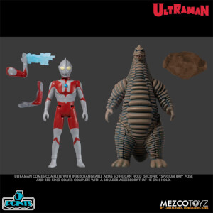 Figuras de Acción Mezco Ultraman and Red King