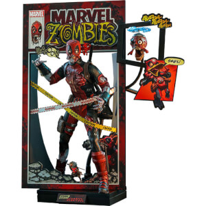 Hot Toys Marvel Zombies Comic Masterpiece 1/6 Zombie Deadpool 31cm Action Figure