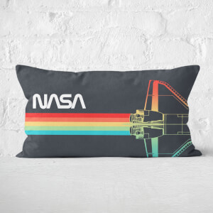 NASA Blast Off! Rectangular Cushion