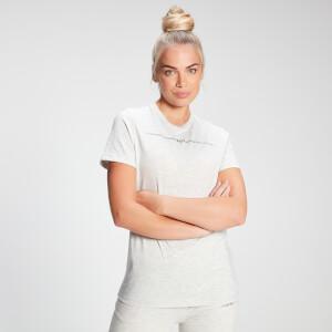 MP Women's Mini Mark Graphic T-Shirt - Light Grey Marl