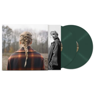 Taylor Swift - evermore Deluxe Edition Green LP
