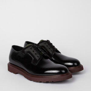 Paul Smith Men's Mac Leather Derby Shoes - Black