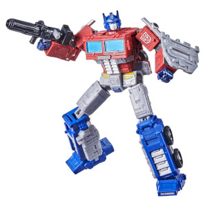 Figura de Acción Hasbro Transformers War for Cybertron Líder Optimus Prime