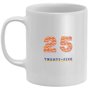 25th Birthday Mug