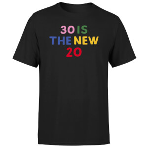 30 Is The New 20 Men's T-Shirt - Black