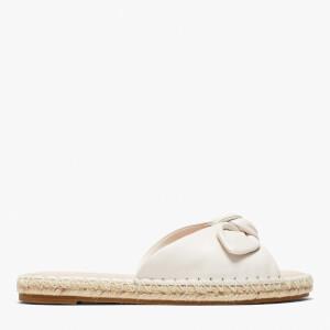 Kate Spade Women's Saltie Shore Leather Espadrille Sandals - Parchment