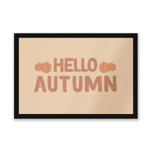Hello Autumn Entrance Mat