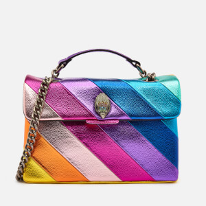 Kurt Geiger London Women's Leather Metallic Kensington Bag - Multi