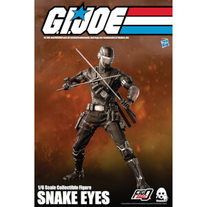 ThreeZero G.I. Joe Snake Eyes FigZero 1:6 Scale Figure