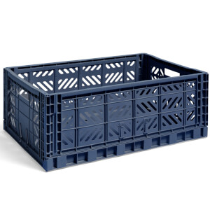 HAY Colour Crate Navy - L