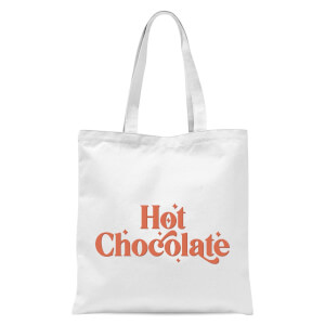 Hot Chocolate  Tote Bag - White