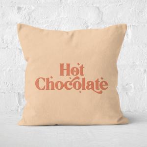 Hot Chocolate  Square Cushion