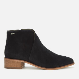 Barbour Women's Caryn Suede Heeled Ankle Boots - Black