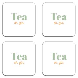 Tea Or Gin Coaster Set