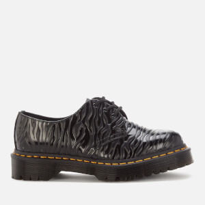 Dr. Martens 1461 Bex Embossed Leather 3-Eye Shoes - Zebra Gloss