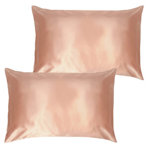 Slip Pure Silk Pillowcase Duo - Queen - Rose Gold