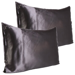 Slip Pure Silk Pillowcase Duo - Queen - Charcoal