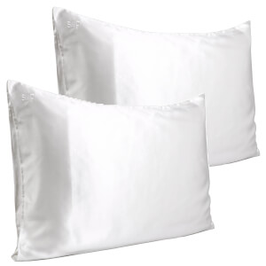 Slip Pure Silk Pillowcase Duo - Queen - White
