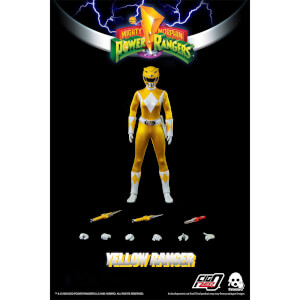 ThreeZero Power Rangers Yellow Ranger 1:6 Scale Figure