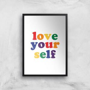 Love Yourself Giclee Art Print