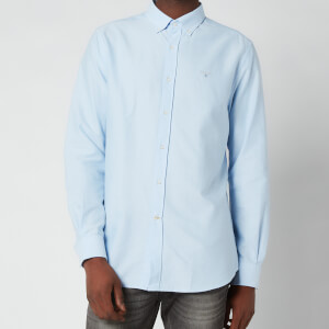 Barbour Men's Oxford 3 Tailored Fit Shirt - Sky