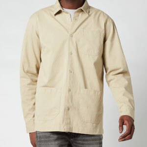 Barbour International Men's Worker Overshirt - Washed Stone
