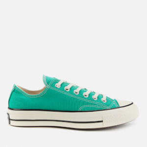 Converse Chuck 70 Recycled Canvas Ox Trainers - Court Green/Egret/Black