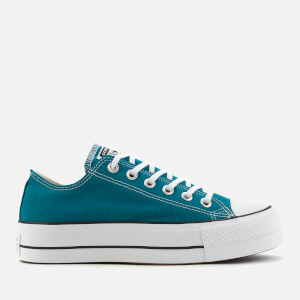 Converse Women's Chuck Taylor All Star Lift Ox Trainers - Bright Spruce
