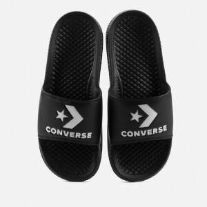 Converse All Star Slide Sandals - Black/White