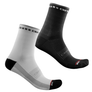 Castelli Women's Rosso Corsa 11 Socks