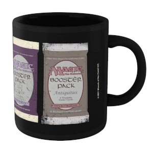 Magic: the Gathering Booster Packs Mug - Black