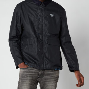 Barbour Beacon Men's Broad Wax Jacket - Navy