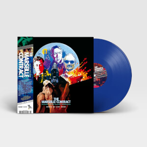 Beat Ball Music The Marseille Contract (Original Motion Picture Soundtrack) LP Blue