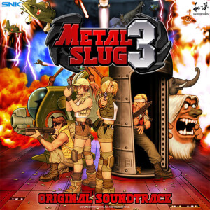 Wayô Records Metal Slug 3 2LP Splatter