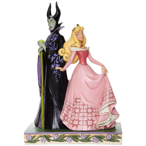 Disney Aurora and Maleficent Figurine
