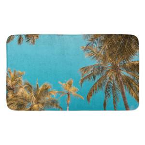 Earth Friendly Palm Trees Large Bath Mat